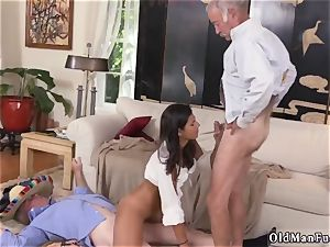 elder and young rope on first time This time they get to ravage a fiery latina.