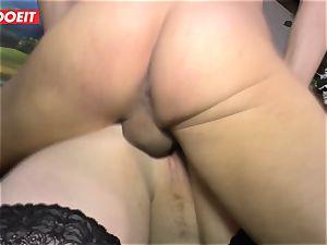 LETSDOEIT - lush nymph Gets drilled stiff On lovemaking tape