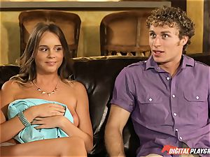 Family sex lessons with stepmom and stepfather - Phoenix Marie and Alexis Adams