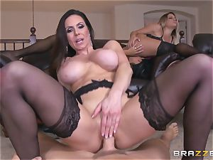 fourway nail with Kendra eagerness and her guy wives