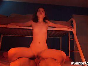Midnight vagina pummel with super-hot bombshell