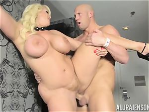 blonde milf Alura Jenson decides to cheat on her husband