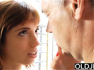 Teenie screws senior stud nubile bj gulps spunk