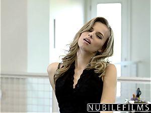 NubileFilms - Office hoe poked Till She sploogs