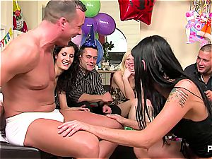 new Year's Eve fuckfest party vignette 2