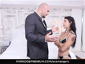SCAM ANGELS - Karlee Grey blackmail foursome screw