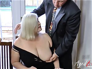 AgedLovE Lacey Starr and Paul hardcore activity