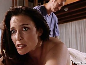 handsome Mimi Rogers gets her entire assets fumbled