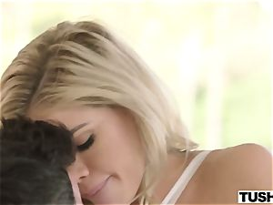 youthful lovely doll Jessa Rhodes takes large beef whistle in her taut booty