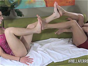 sole Fetish pleasure With Ariella Ferrera