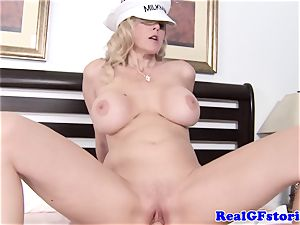 enormous titted ash-blonde housewife lovinТ manmeat
