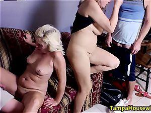 two women begin, two studs finish