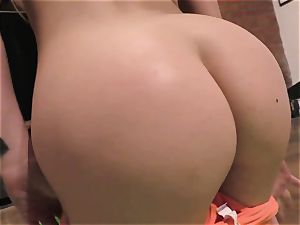 Yoga bi-atch Alina West boinked in point of view