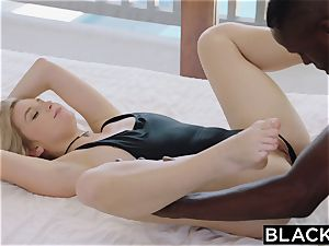 BLACKED.com blondie Gets very first big black cock from Brothers acquaintance