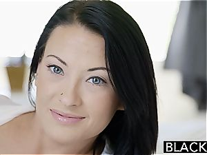 naughty Kelly Diamond prepped for dark-hued hard-on in her butt