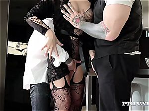 wonderful lingerie stunner Anna Polina gets screwed