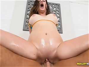 slurping vag pie with Ashley Adams