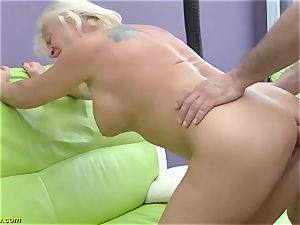 gorgeous 73 years elder mommy first big stiffy buttfuck penetrate