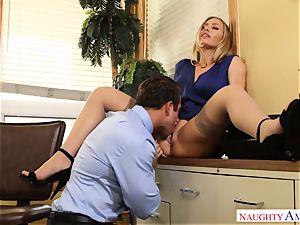 Nicole Aniston Chad Office internal cumshot