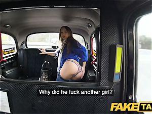 faux cab super hot vengeance cab plumb for wondrous uber-sexy minx