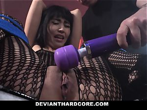DeviantHardcore horny asian Gets taut puss cropping