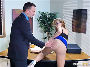 Britney Amber getting boned in her rump and poon