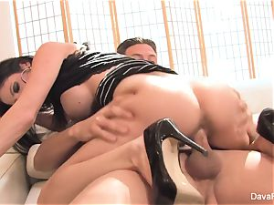 audition bed with Bradley with a creampie