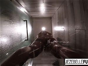 Jezebelle Bond torrid sizzling douche