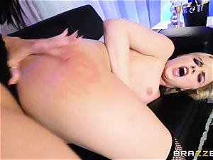 milf Rachel Starr eats out nubile honey Dillion Harper in a undress club