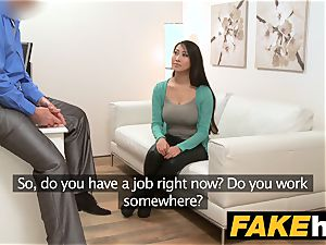 faux Agent ginormous breasts japanese wants rock-hard pound