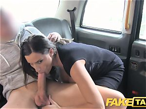 faux taxi red-hot buxom honey gets ginormous jizm shot
