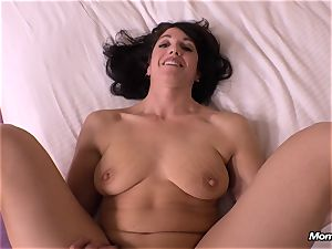 harmless black-haired milf cheating creampie wish