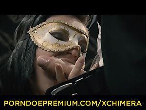 xCHIMERA - Czech Lee Anne gets humped in fantasy tear up