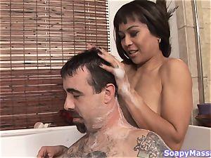 Max Mikita providing the hottest massage
