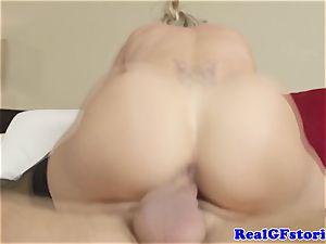 super hot blondie housewife milf pummeled