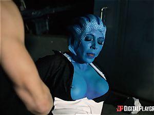 Space pornography parody with super hot alien Rachel Starr