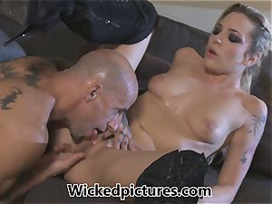Rampant role have fun for Bailey Blue and a sizzling boy