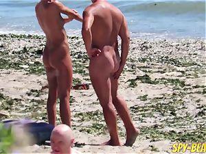 spycam amateur bare Beach cougars Hidden webcam Close Up
