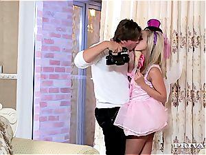 bony blondie teenage Vinna Reed Gets penetrated