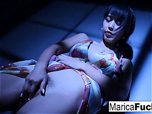 asian pornstar Marica gets bare