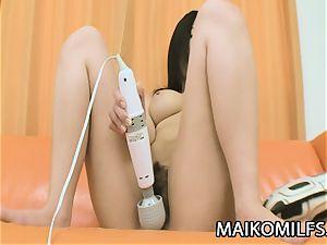 Kimi Nakao - Pretty JAV HouseWife lovinТ A diminutive man sausage