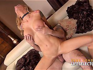 Sarah Jessie - point of view undress venture