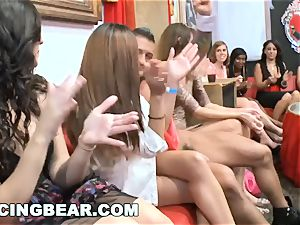 DANCINGBEAR - ginormous manstick male Strippers Crashing the club