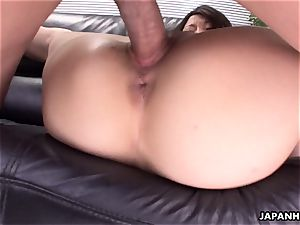 very steaming 3some pulverize in the office for the superslut