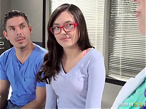 doctor Christie Stevens demonstrates just how ass fucking is done