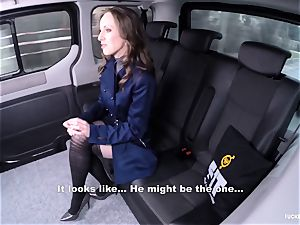 pulverized IN TRAFFIC - gorgeous Czech babe ravages in the car