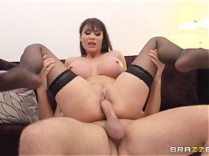 Keiran Lee wants to have fuck-a-thon with his mature maid with fat elastic baps