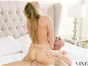 VIXEN steaming assistant Carter Cruise Lets her chief Do Whatever he Wants to her