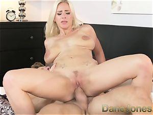 Dane Jones bootie slurping vagina penetrating cowgirl railing