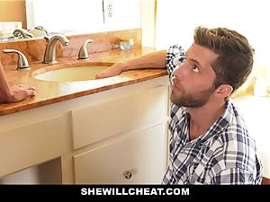 SheWillCheat - Mature wifey Gets Her cunny Piped